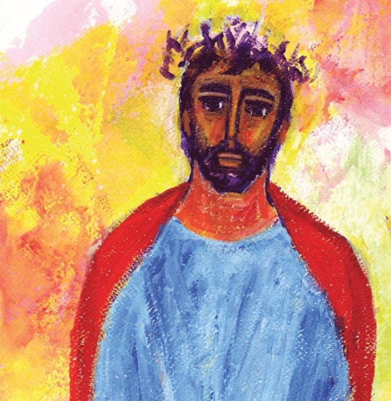 Chemin de croix, avec le Christ